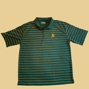 Oakland A's Collared Tee Shirt